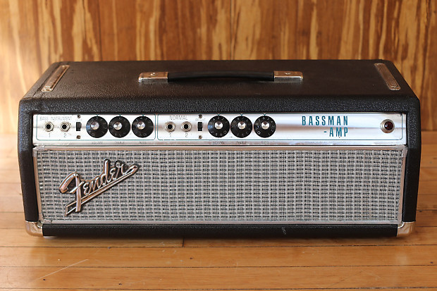1968 fender bassman specs