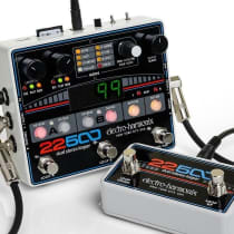 Electro-Harmonix 22500 Dual Stereo Looper with Foot Controller 2010s Black image