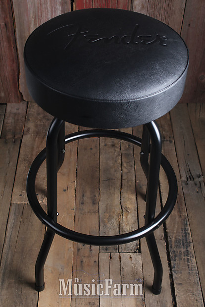 Remarkable Fender Guitars Blackout Barstool Black 30 Inch Tall 360 Degree Swivel Stool Camellatalisay Diy Chair Ideas Camellatalisaycom