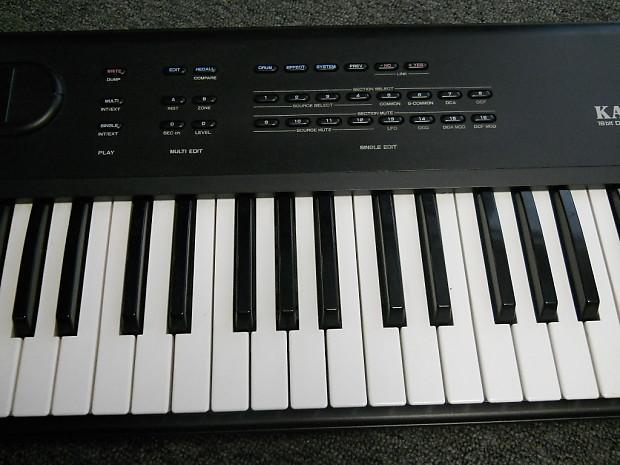 1989 Vintage Kawai K4 Pcm 16 Bit Digital Synthesizer 61