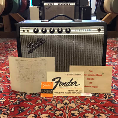 1972 Fender Princeton Silverface for sale