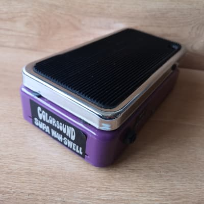 [Final Sale] Sola Sound Colorsound Supa Wah Swell Guitar effects pedal for sale