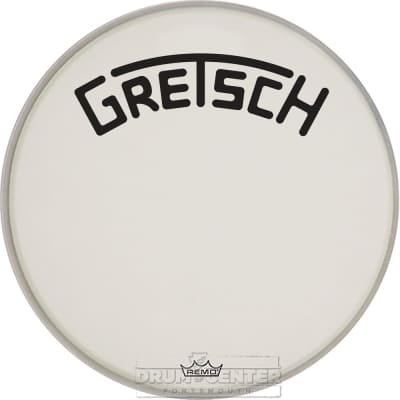 Gretsch Bass Drum Head Coated 20 With Broadkaster Logo