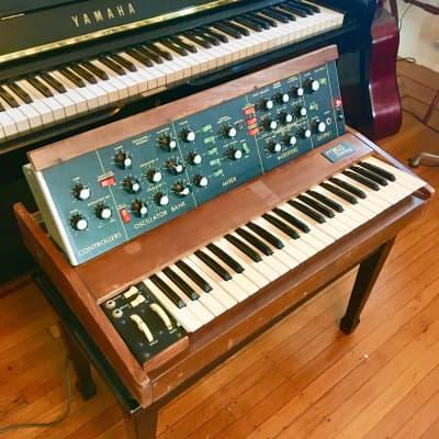 REAL -Moog Minimoog Model D Analog Synthesizer  original vintage synth USA  1970s