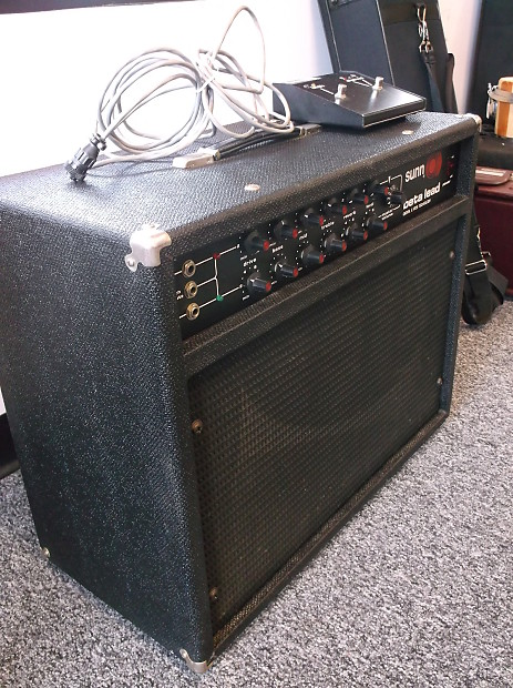 Sunn Beta Lead 2x12 Speaker Electric Guitar Amp Combo