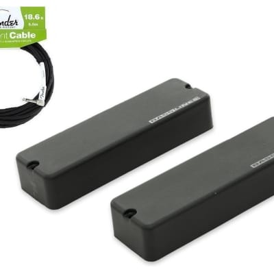 Seymour Duncan ASB-5s Soapbar 5 String Bass Phase I Set (FENDER 18FT ) Bartolini P2 & P4 Replacement