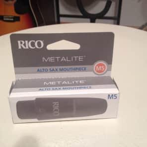 Rico MJM-5 Metalite Alto Saxophone Mouthpiece - M5