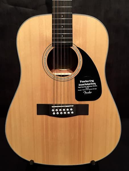 fender cd 100 12 string acoustic guitar reverb. Black Bedroom Furniture Sets. Home Design Ideas
