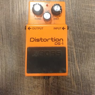 Boss DS-1 Distortion Effects Pedal(Silver Label) 1994 - 2021