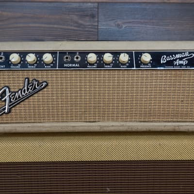 Fender Bassman 6G6-B 1964 Blonde head.