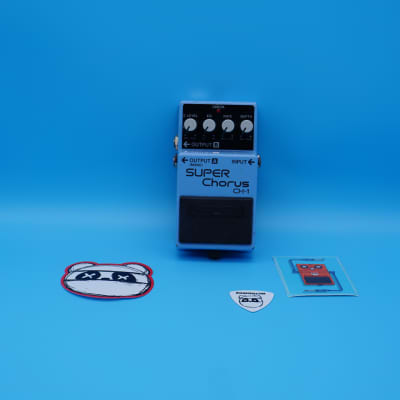 Boss CH-1 Super Chorus | Rare Blue Label (Analog Version) | Fast Shipping!