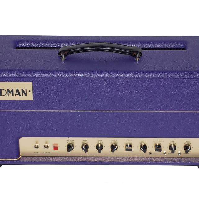 NEW FRIEDMAN BE-100 BROWN EYE 100-watt HEAD - CUSTOM PURPLE TOLEX - 10% OFF WITH CODE! - WARRANTY image