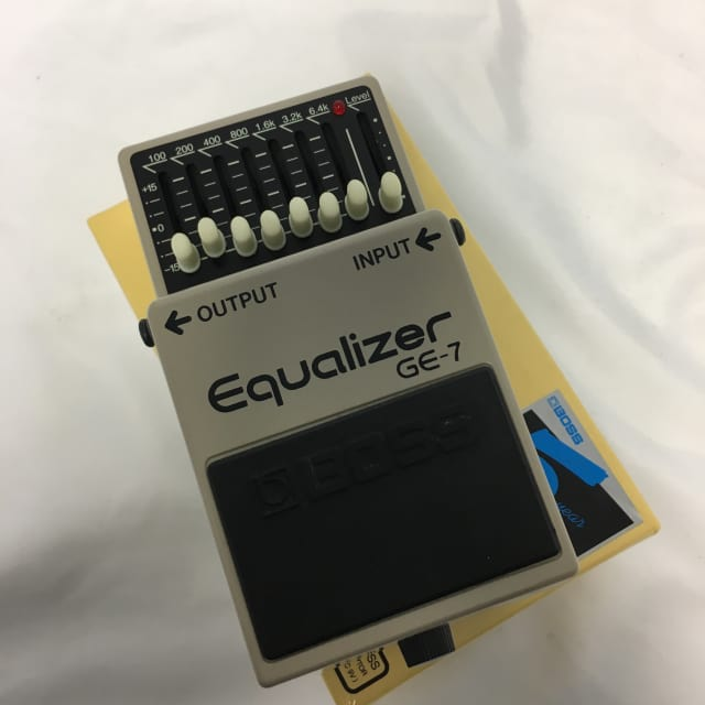 Boss GE-7 Equalizer Effects Pedal image