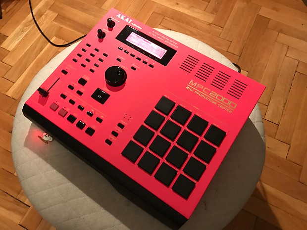 Custom Akai Mpc 2000new Perfect Red Display32mbusb Floppy Reverb