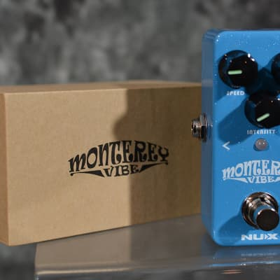 NuX NCH-1 Monterey Vibe Mini Pedal Univibe effect w FAST n Free Same Day Shipping
