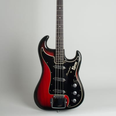 Burns  Jazz Bass Solid Body Electric Bass Guitar (1965), ser. #10698, black tolex hard shell case. for sale