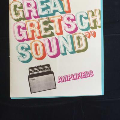Gretsch Rare Amplifiers Catalog  1968