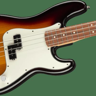 Fender Player Precision Bass, Pau Ferro Fingerboard, 3-Color Sunburst for sale
