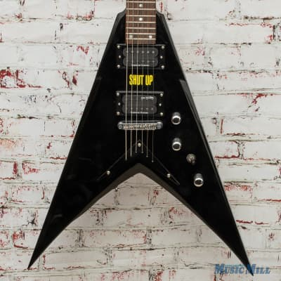 Dean Dave Mustaine Signature VMNTX w/ Seymour Duncans  Black (USED) for sale