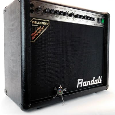 Randall RG50TC Combo Vollröhre All Tube Metal Amp + Presence Tuning for sale