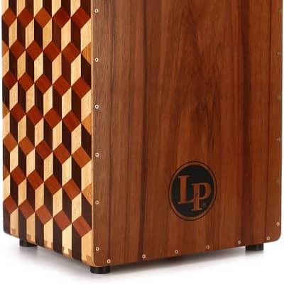 Latin Percussion LP8800B Peruvian Solid Wood Brick Cajon w