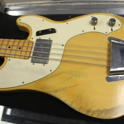 Fender Telecaster Bass 1973 Blonde/Butterscotch Worn for sale