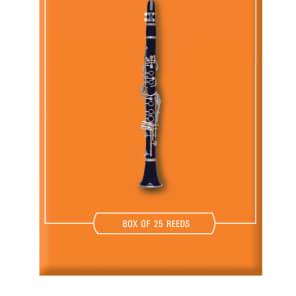 Rico RBA2515 Eb Clarinet Reeds - Strength 1.5 (25-Pack)