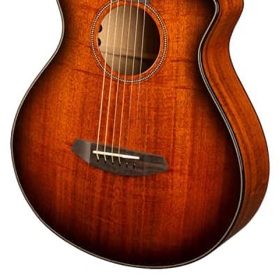 Breedlove USA Oregon Concertina Bourbon CE Acoustic Electric Guitar