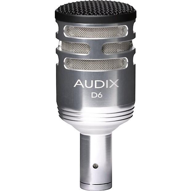 audix d 6 sub impulse kick microphone brushed aluminum reverb. Black Bedroom Furniture Sets. Home Design Ideas
