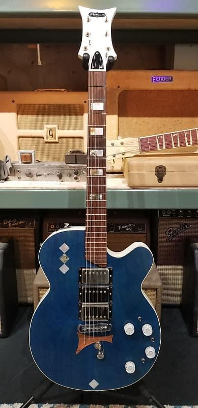 mercury double string bender electric guitar reverb. Black Bedroom Furniture Sets. Home Design Ideas