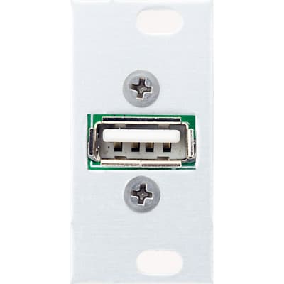 Intellijel USB Power 1U: USB socket for charging/powering peripheral devices