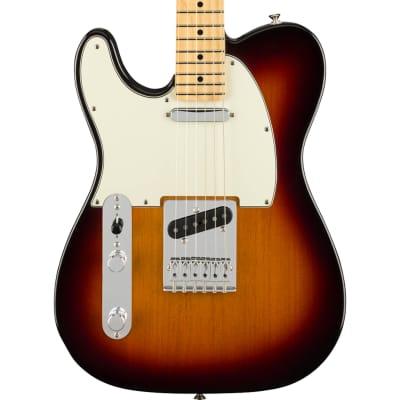 Fender Player Telecaster Left-Handed 3-Tone Sunburst Maple Fretboard