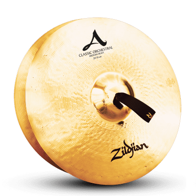 """Zildjian 20"""" A Series Classic Orchestral Selection Medium Heavy Cymbals (Pair)"""
