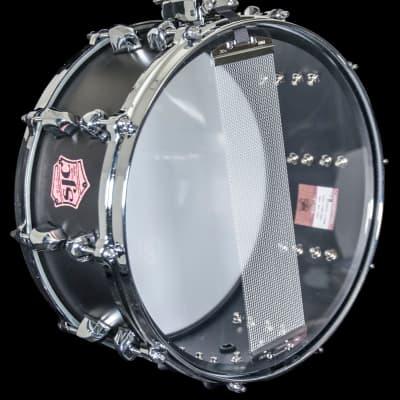 SJC Tre Cool Black Mamba Signature 6.5x14'' Snare Drum Black Steel