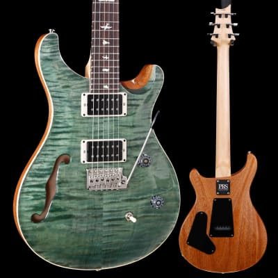PRS Paul Reed Smith CE24 Semi-Hollow, Trampas Green 898 6lbs 14.9oz for sale