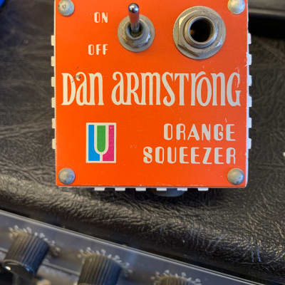 Dan Armstrong Orange Squeezer Orange for sale