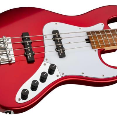 Sadowsky MetroExpress 21-Fret Vintage J/J Bass, Morado Fingerboard, 4-String - Solid Candy Apple Red