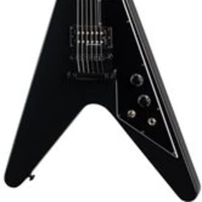 Gibson Flying V B2 Electric Guitar Satin Ebony with Gig Bag