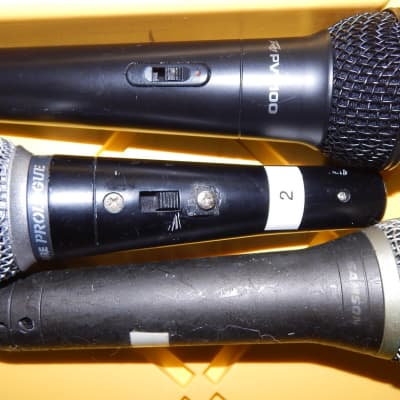 peavey samson shure pvi100 prologue etc microphones 2 work 1 does not