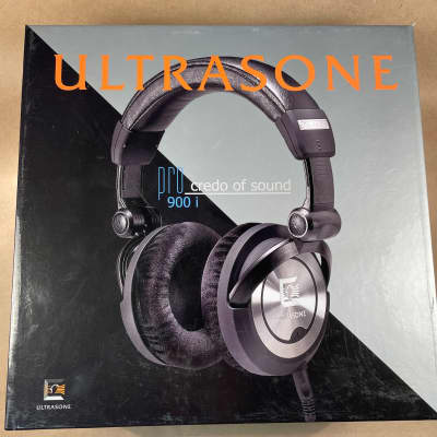 Ultrasone PRO 900i Foldable, Closed-Back Professional Headphones, S-Logic Natural Surround Sound