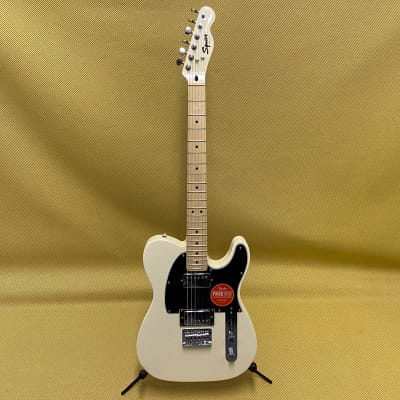 037-1222-523 Squier Contemporary Telecaster Electric Guitar HH Peal White Matching Headstock for sale