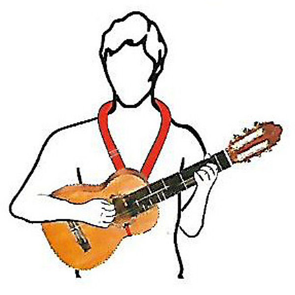 Spanish Guitar Hook Support Strap