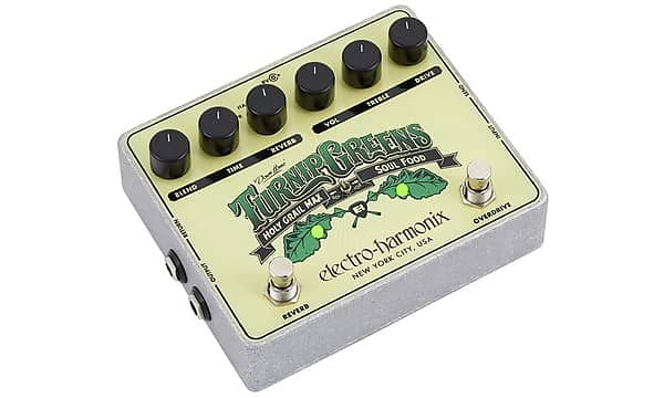 electro harmonix turnip greens multi effect pedal brand new reverb. Black Bedroom Furniture Sets. Home Design Ideas