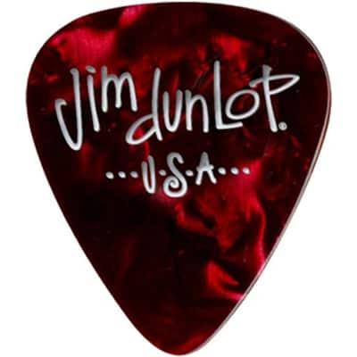 Dunlop 483P09MD Celluloid Classic Confetti Electric Guitar Picks Medium 12-Pack