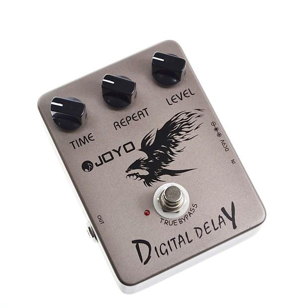 joyo jf 08 digital delay guitar effects pedal reverb. Black Bedroom Furniture Sets. Home Design Ideas