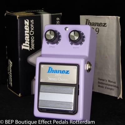 Ibanez CS-9 Stereo Chorus 1983 s/n 300636 Japan