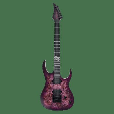 Solar S1.6PP – Poplar Purple Burst Matte Electric Guitar