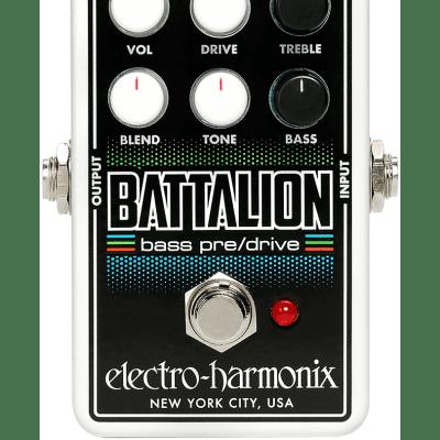 Electro-Harmonix Nano Battalion Bass Preamp Effects Pedal