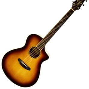 Breedlove Pursuit Concert ABSB Limited Edition Australian Blackwood Cutaway Acoustic/Electric GUitar Gloss Sunburst 2016