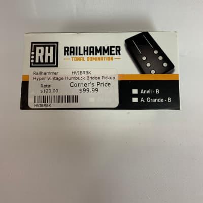 Railhammer Hyper Vintage Humbucker - Bridge  Black
